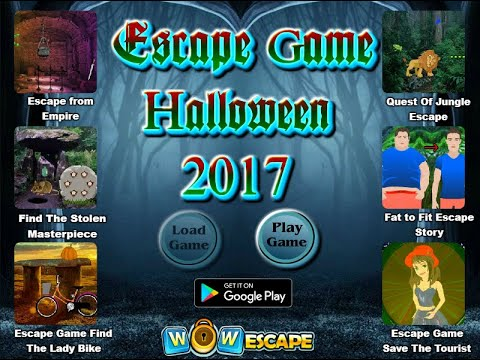 wowescape escape game halloween walkthrough 2017